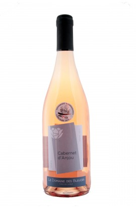 AOP Cabernet d'Anjou Rosé Domaine des Bleuces 2015