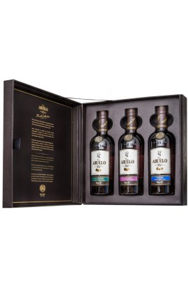 Coffret Abuelo 3x20cl Finish Collection