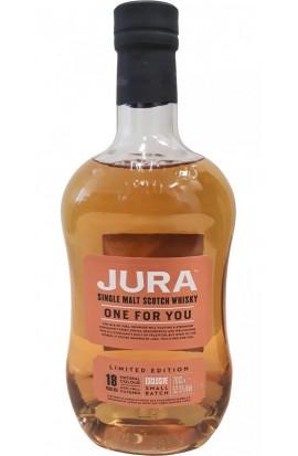 Whisky Single Malt JURA 18 ans One For You 52,5°
