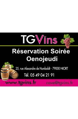 Reservation Soirée Oenojeudi