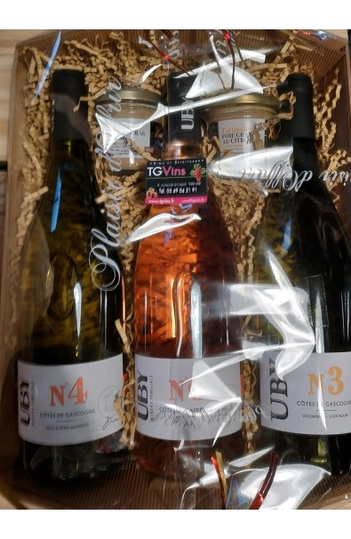 Coffret 3 Bouteilles UBY /2 Tartinables