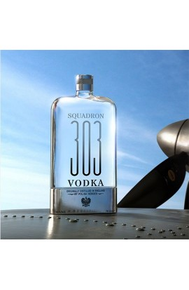 Vodka Squadron 303 Flask Original