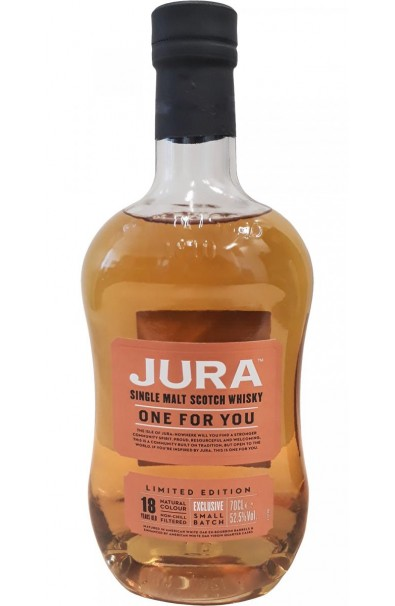Whisky Single Malt JURA 18 ans One For You 52,5°