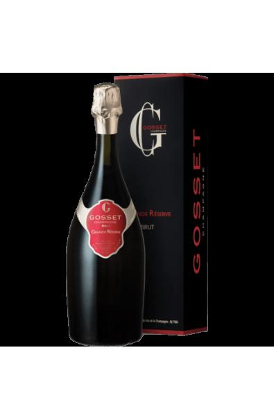 Coffret Champagne Gosset Grande Réserve