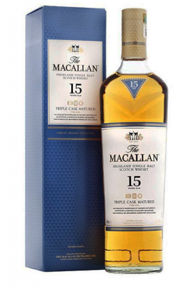 The Macallan 15 ans Triple Cask