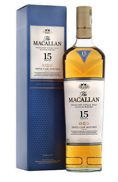The Macallan 15 ans Triple Cask